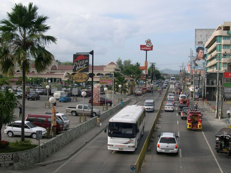 Cebu in the Philippines. Photo: Wikimedia Commons