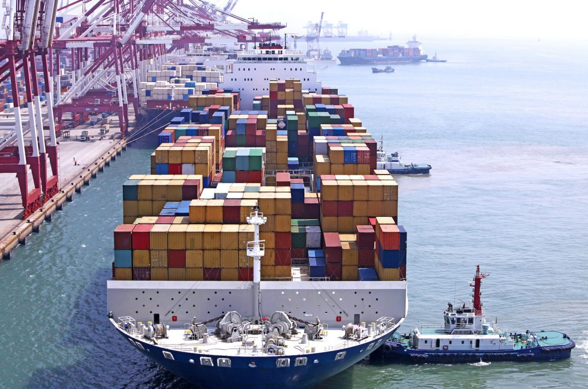 China's exports fell 17.2%, in the first two months of the year. Photo: iStock
