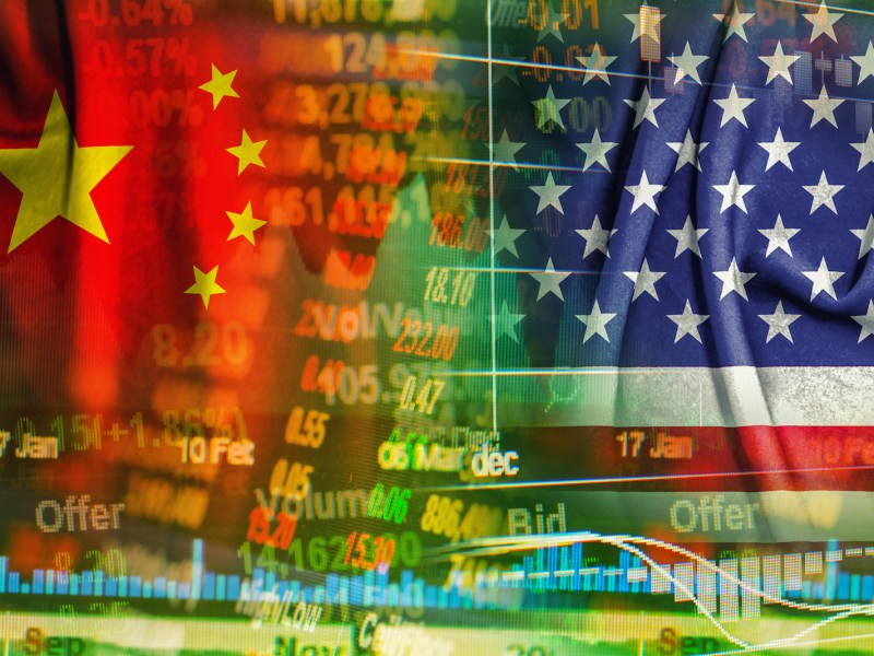 China's trade conflict with the United States is starting to hit the domestic economy. Photo: iStock