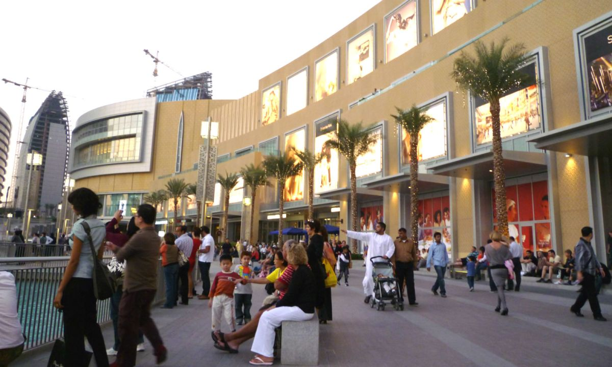 The Dubai Mall. Photo: Wikimedia Commons