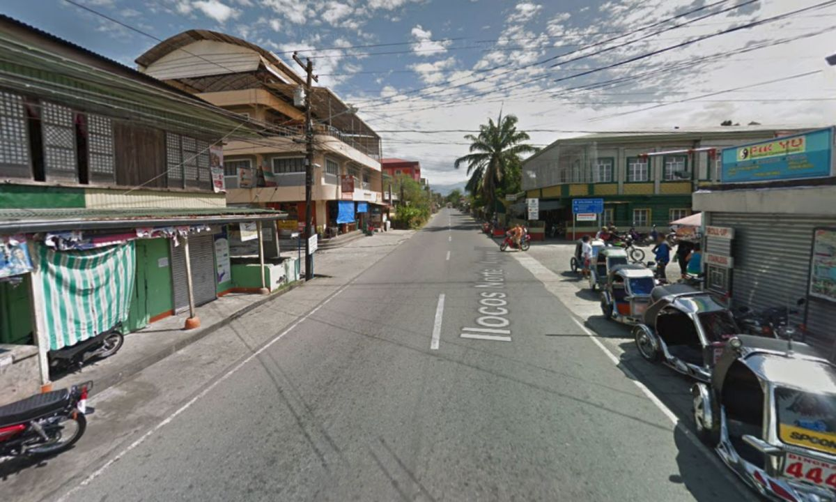 Dingas in Ilocos Norte in the Philippines. Photo: Google Maps
