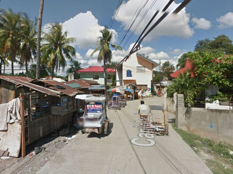 Barangay Canjulao in Lapu-Lapu City in the Philippines. Photo: Google Maps