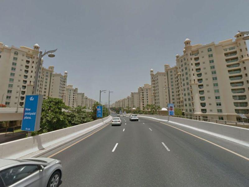 Palm Jumeirah in Dubai, UAE. Photo: Google Maps