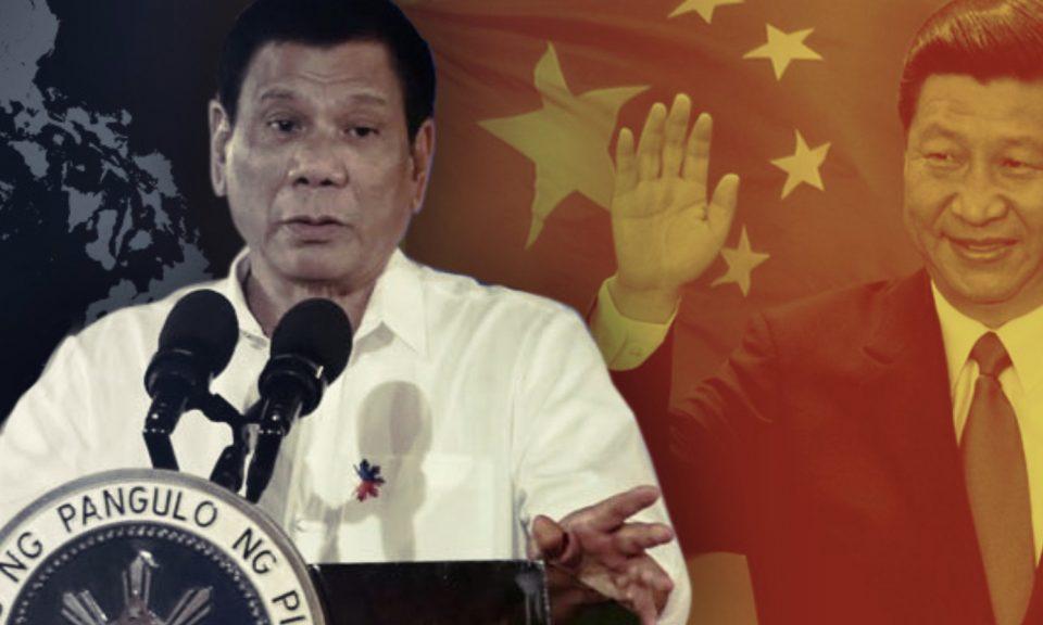 菲律賓總統杜特爾特正在他的家鄉達沃市與中國展開外交活動。相片:Facebook