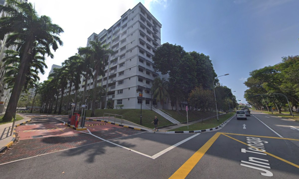 Block 654 on Jalan Tenaga, Singapore. Photo: Google Maps