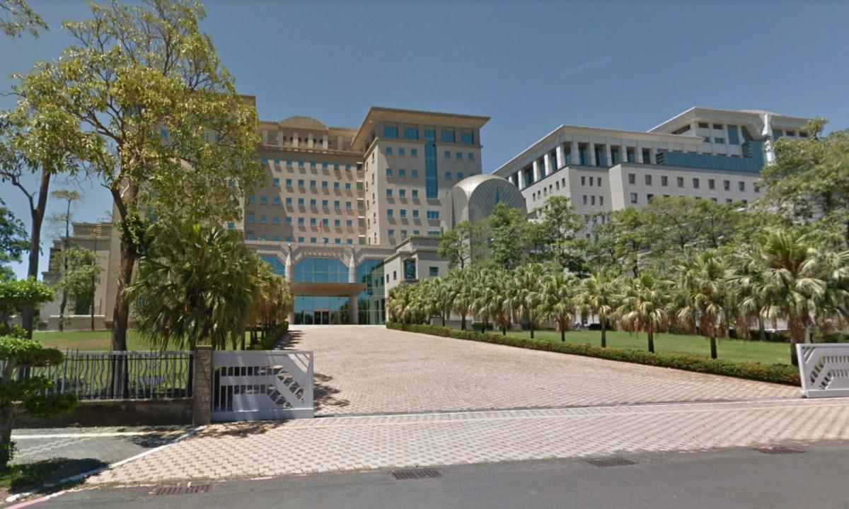 Tainan District Prosecutors Office, Taiwan. Photo: Google Maps