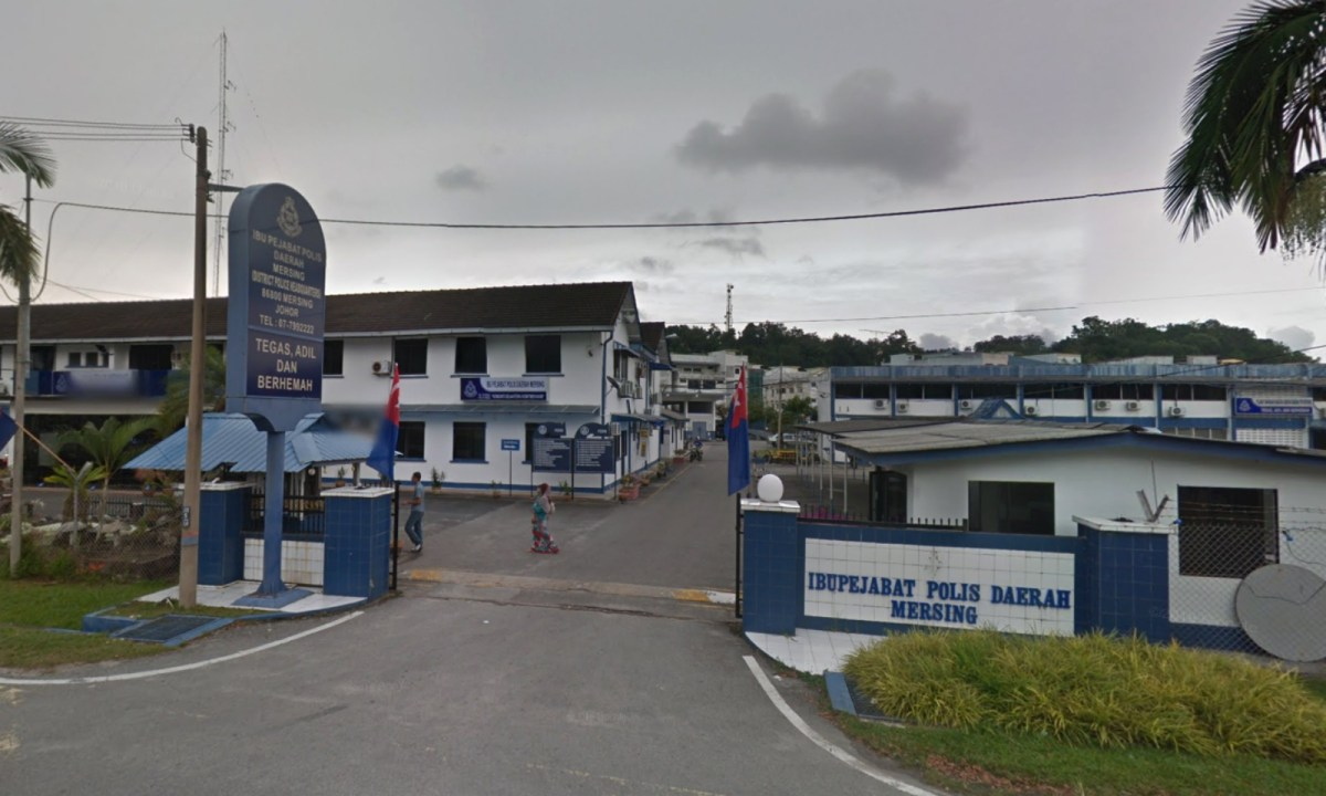 Mersing district police office in Johor, Malaysia. Photo: Google Maps