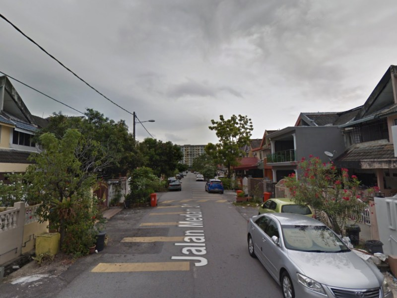 The neighborhood of Taman Medan in Petaling Jaya, Malaysia. Photo: Google Maps
