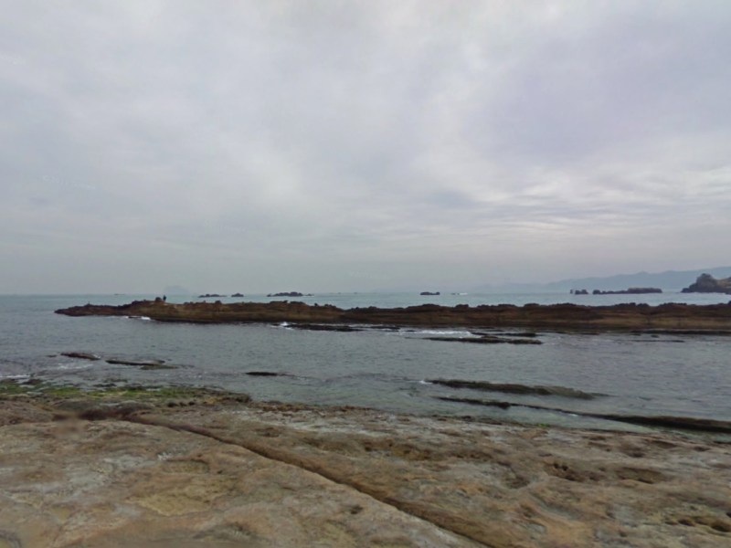 Yehliu, the cape on the north coast of Taiwan. Photo: Google Maps