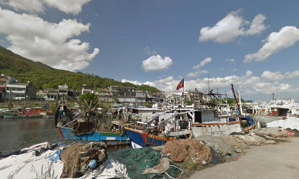 Daxi Fishing Harbor, Yilan, Taiwan. Photo: Google Maps