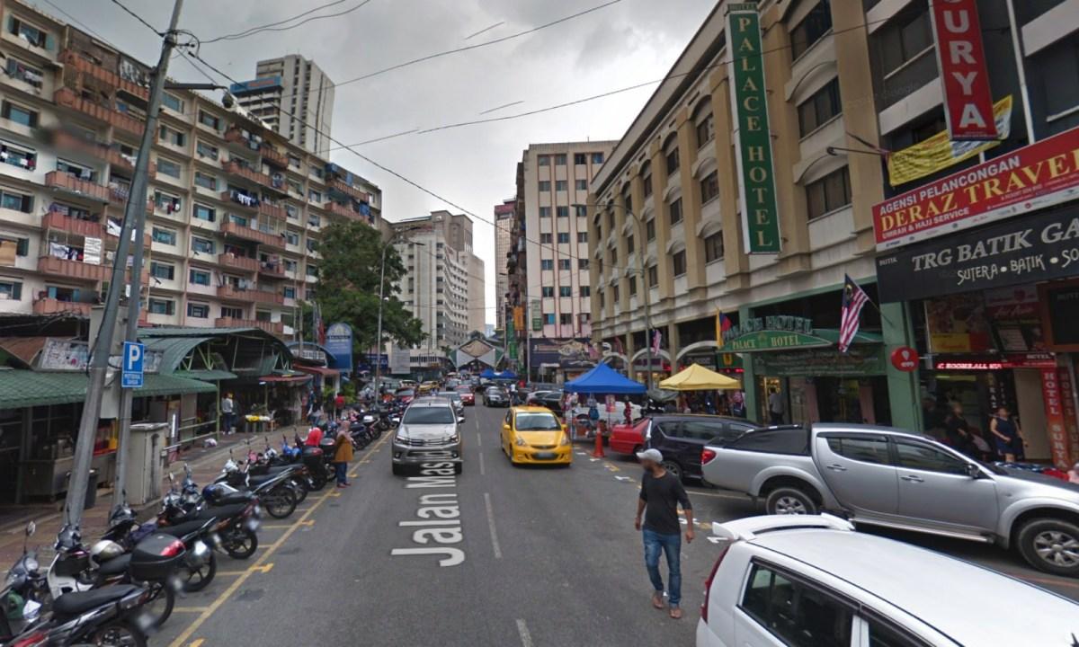 Jalan Masjid India in Kuala Lumpur, Malaysia. Photo: Google Maps