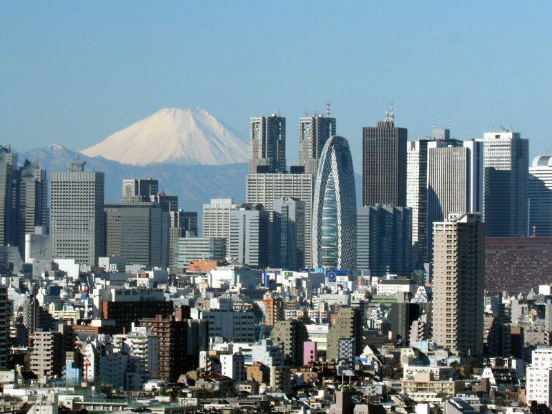 日本東京。相片:Wikimedia Commons
