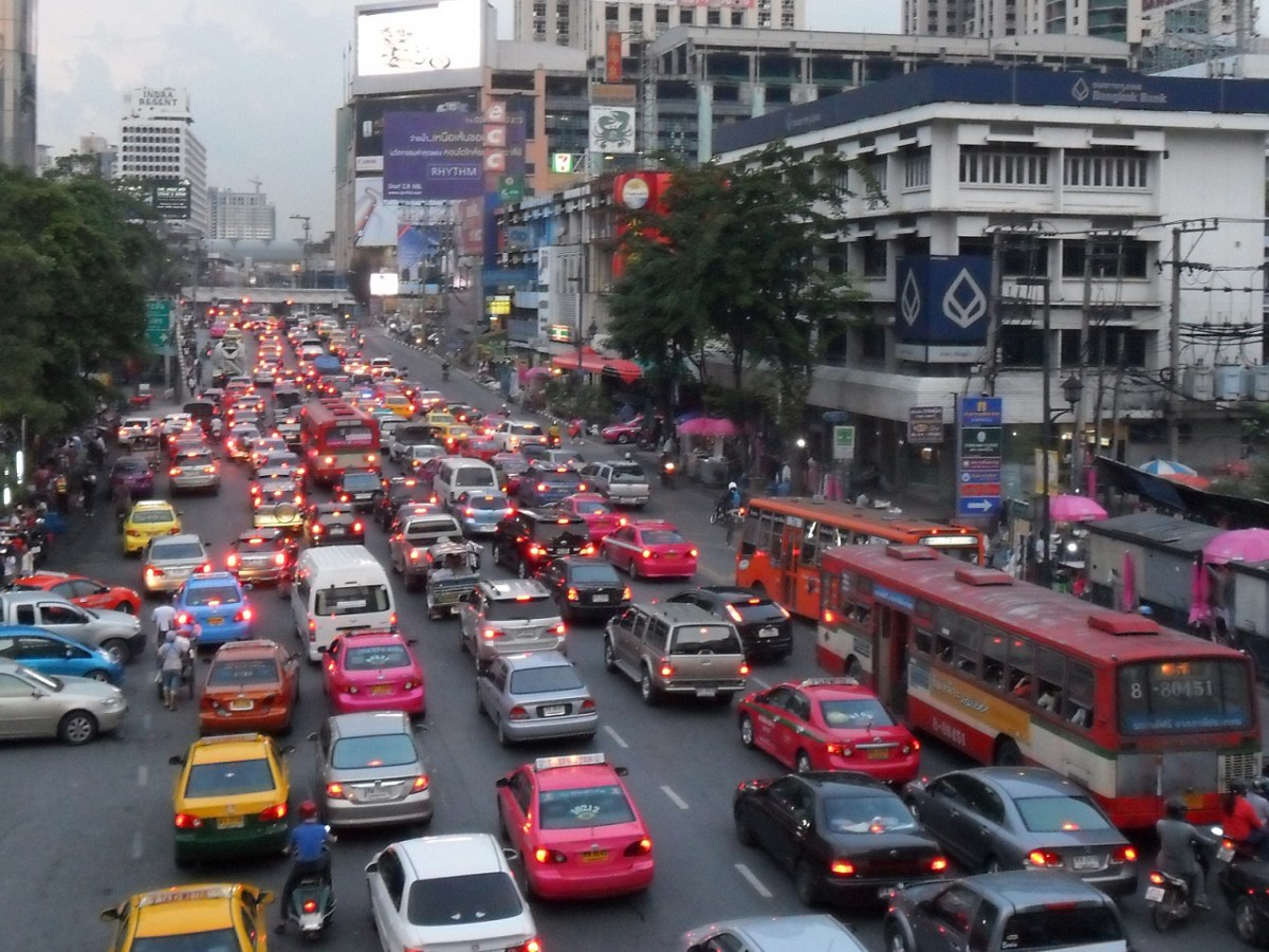 Bangkok, the capital of Thailand, where a lot of government and private schools are located. Photo: Wikimedia Commons