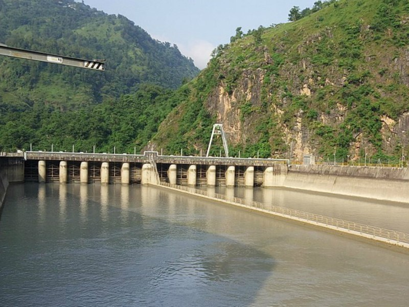 Kaligandaki Hydroelectric Power Station in Nepal. Photo: Wikimedia Commons, Eken7