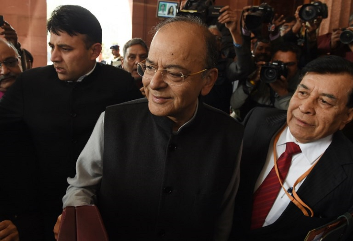 Indian Finance Minister Arun Jaitley. Photo: AFP