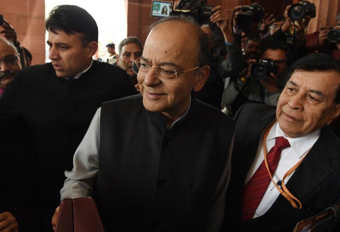 Indian Finance Minister Arun Jaitley. Photo: AFP