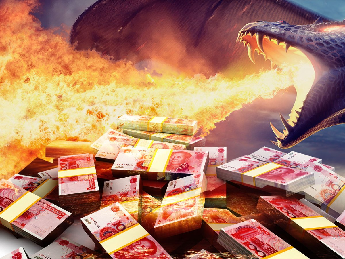 China's debt battle is starting to heat up. Photo illustration: iStock