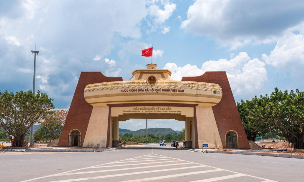 The Lao Bao International Border in Quang Tri. Photo: iStock.