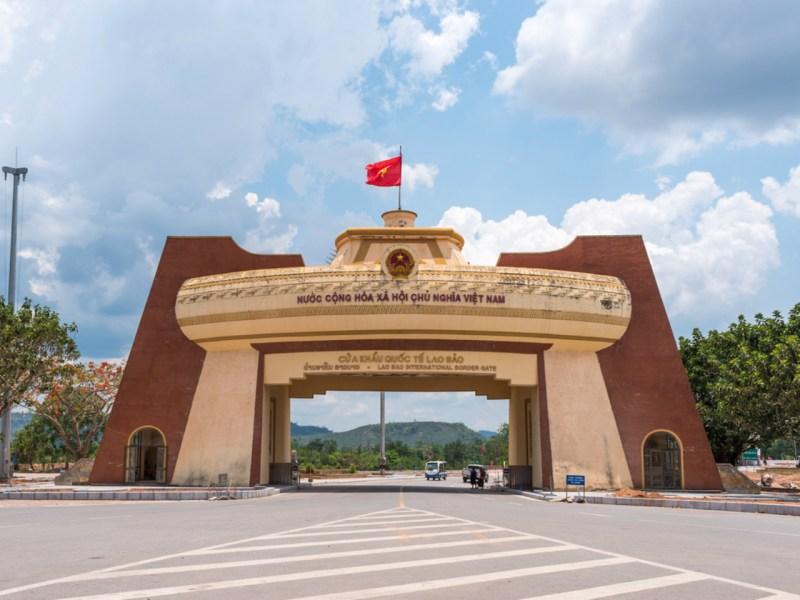 The Lao Bao International Border in Quang Tri. Photo: iStock.
