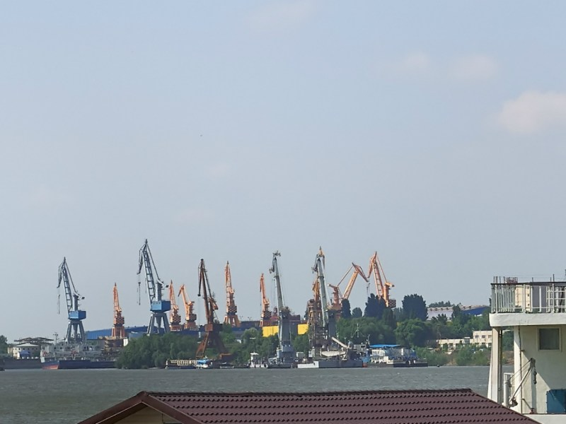 A shipyard in Braila where many Vietnamese are employed. Photo: iStock