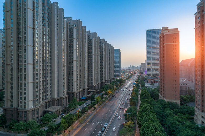 Residential buildings in Beijing. The average price last year for second-hand housing in China's capital was 60,925 yuan per square meter, down 3.3% from a year earlier. Photo: iStock