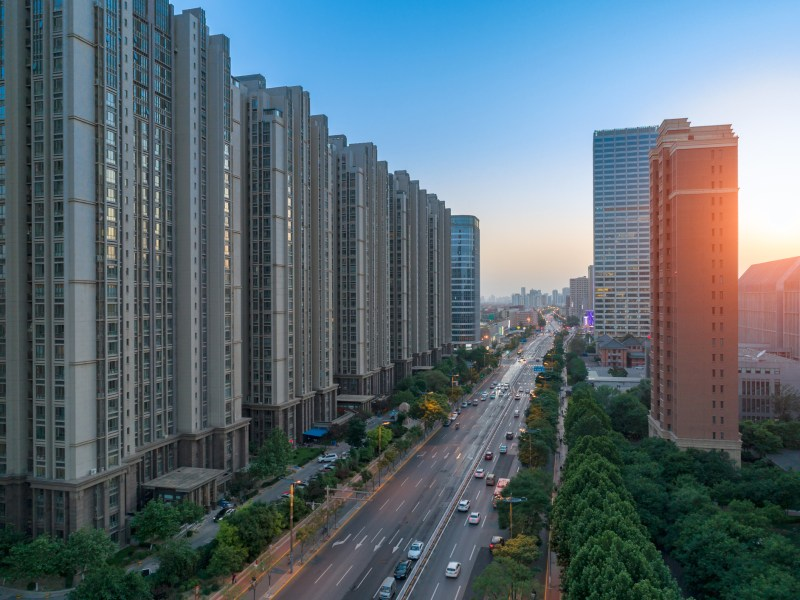Residential buildings in Beijing. Theaverage price last year for second-hand housing in China's capital was 60,925 yuan per square meter, down 3.3% from a year earlier. Photo: iStock