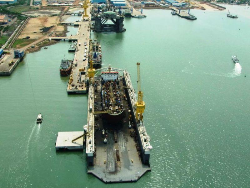 Kakinada Port, India. Photo: Kakinada Port