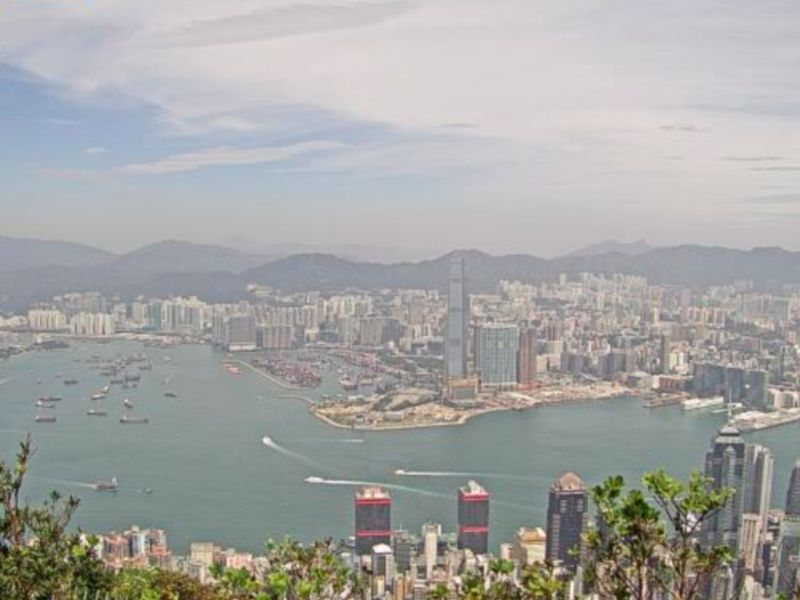 Victoria Harbour in Hong Kong. Photo: The Observatory