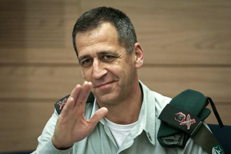 Aviv Kochavi is the Israeli army's new chief of staff. Photo: AFP