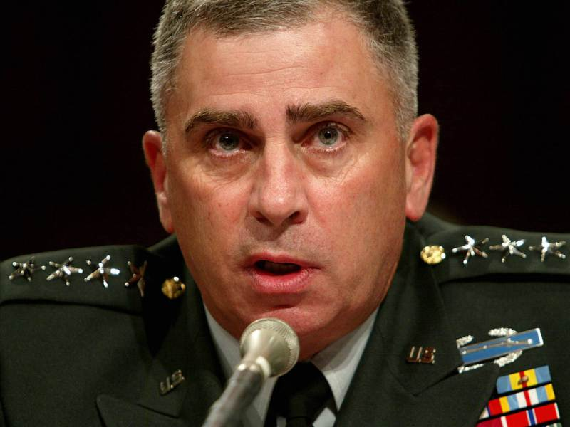 As America's longest-serving Central Command chief, John Abizaid, a West Point graduate, oversaw the Iraq War from 2003 to 2007. Photo: AFP