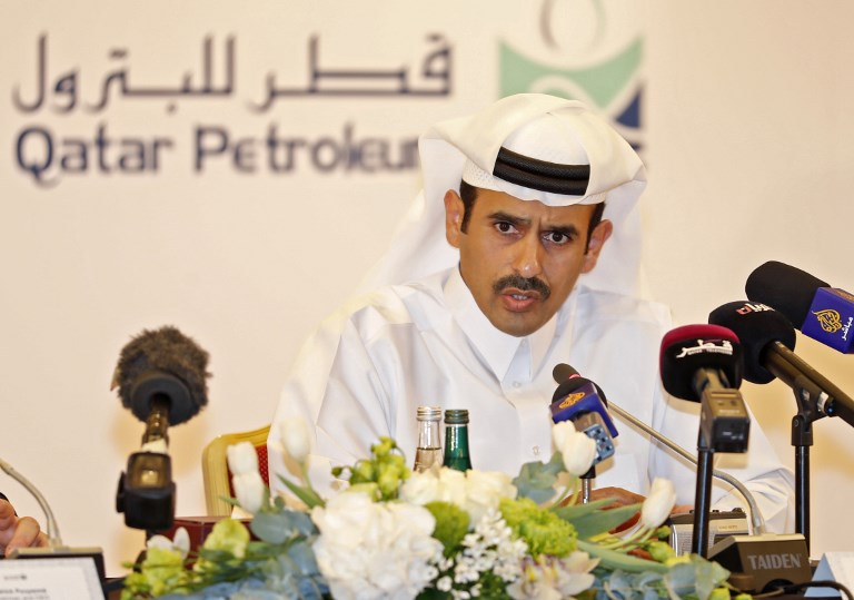 Qatar oil minister Saad al-Kaabi. Photo: AFP