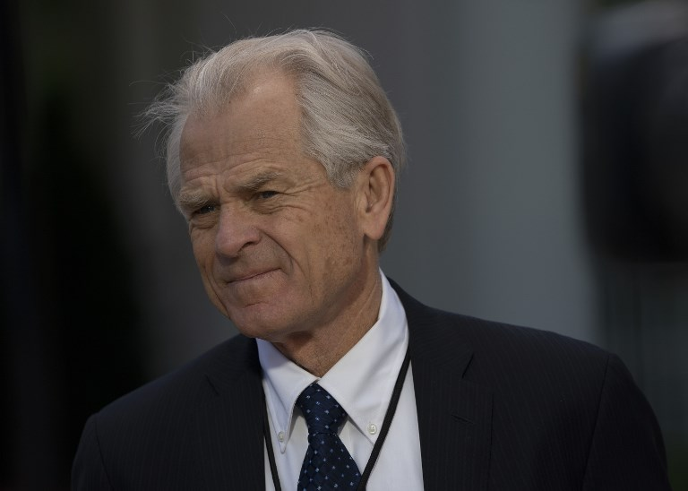 White House trade adviser Peter Navarro. Photo: AFP