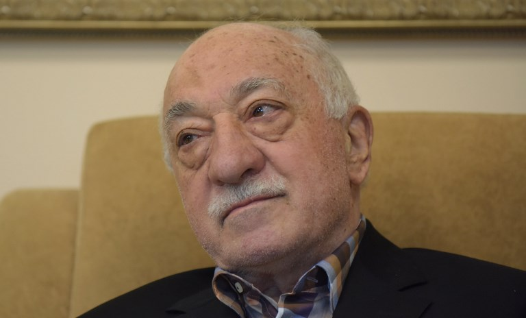 Turkish preacher Fethullah Gülen at his home in Pennsylvania. Photo: DPA