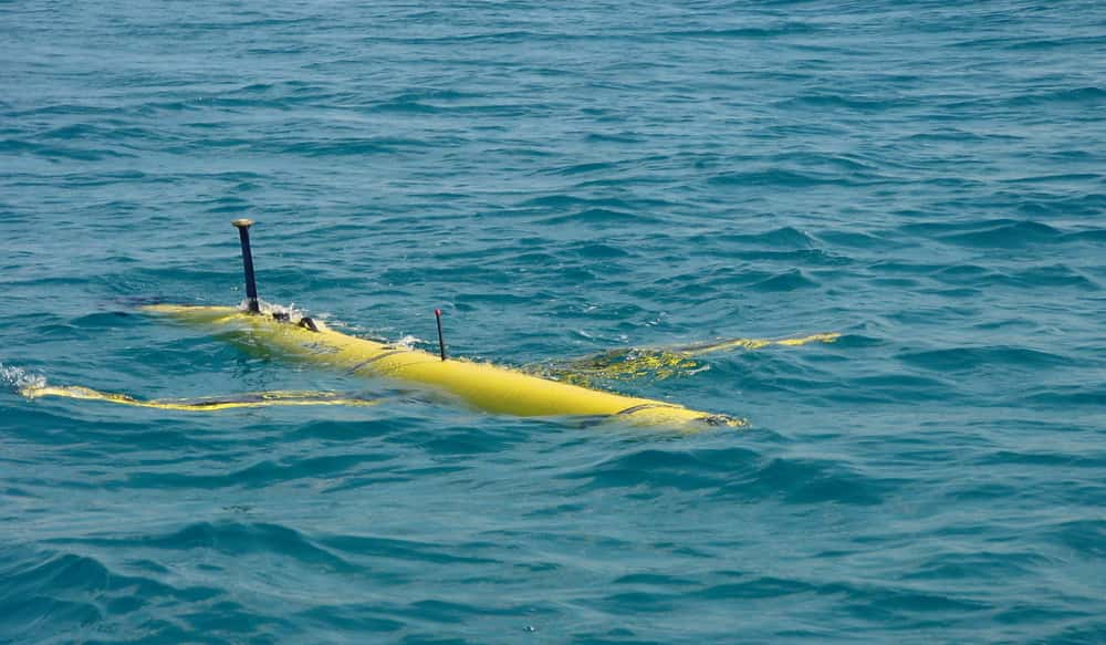 Chinese papers have revealed the discovery of a Canada-made 'spy submersible probe'.  Photo: Xinhua