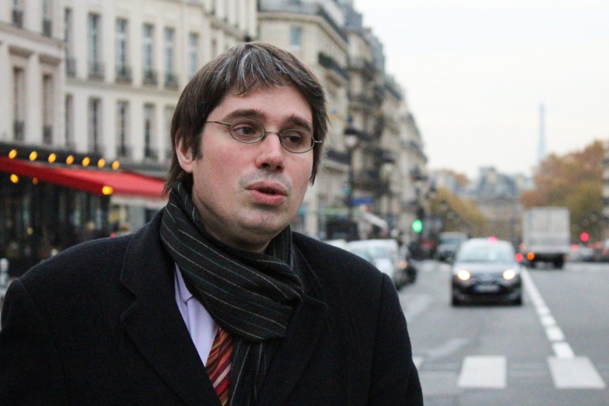 Senior French civil servant Benoit Quennedey in Paris last year. Intelligence agencies have arrested him on suspicion he passed confidential information to North Korea. Photo: AFP