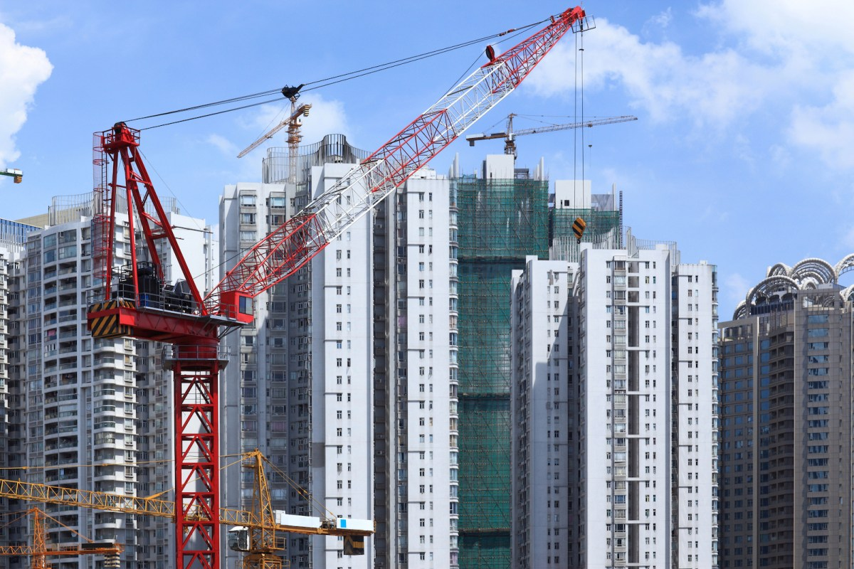 China's property market is starting cool and the bubble could pop next year, according to a report. Photo: iStock