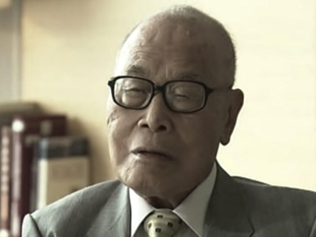 Chung Sze-yuen passed away on Wednesday morning. Photo: RTHK