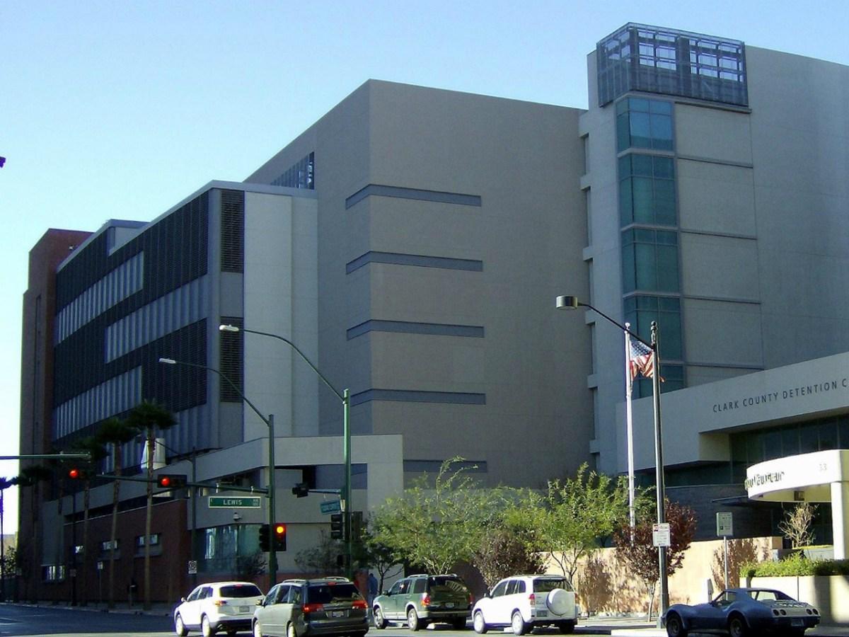 Clark County Detention Center in Las Vegas, Nevada. Photo: Wikimedia Commons.