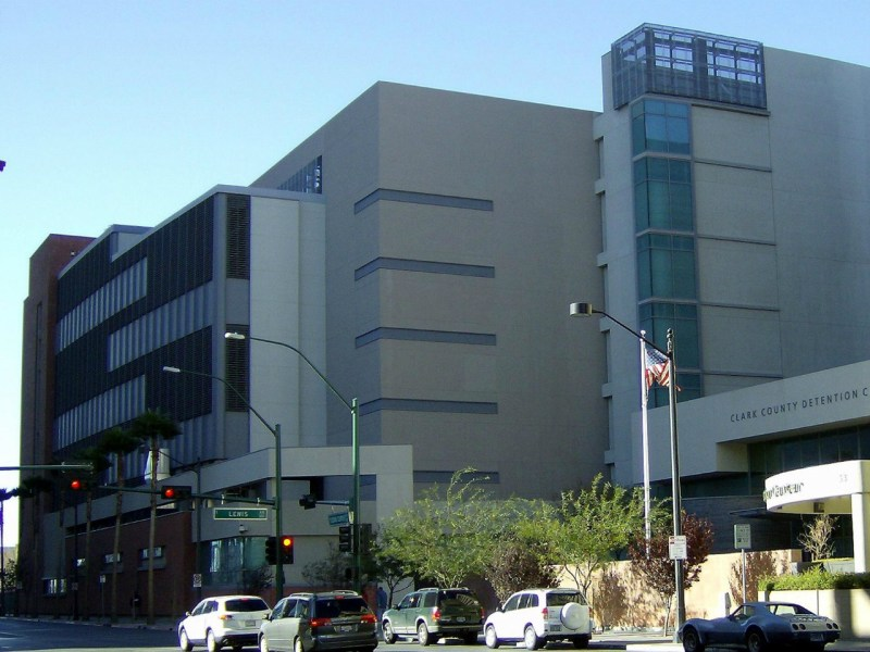 Clark County Detention Center in Las Vegas, Nevada. Photo: Wikimedia Commons.