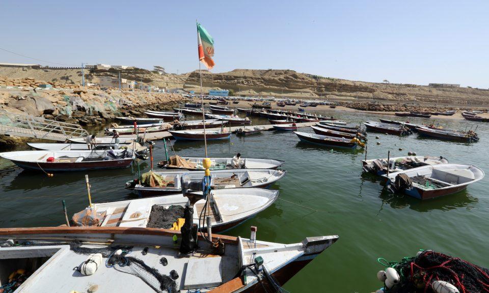 具戰略重要性的伊朗恰巴哈爾港口風景區,該港口將會為愈來愈多阿富汗交通提供服務。相片:AFP