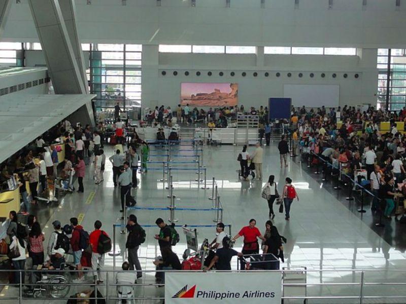 Ninoy Aquino International Airport in Manila. Photo: Wikimedia Commons