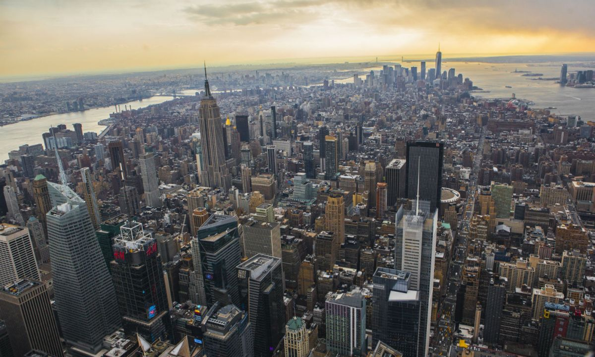 Manhattan, New York in the United States. Photo: Wikimedia Commons