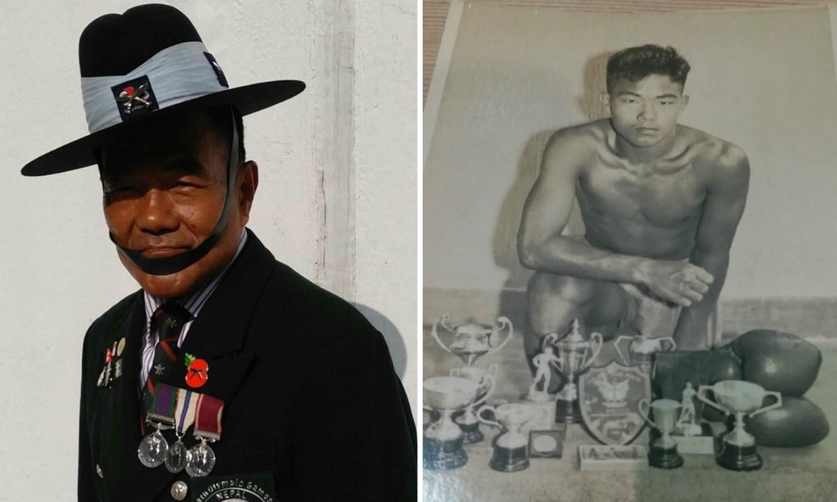 Nam Sing Thapa, an ex-Gurkha soldier Photo: Nam Sing Thapa