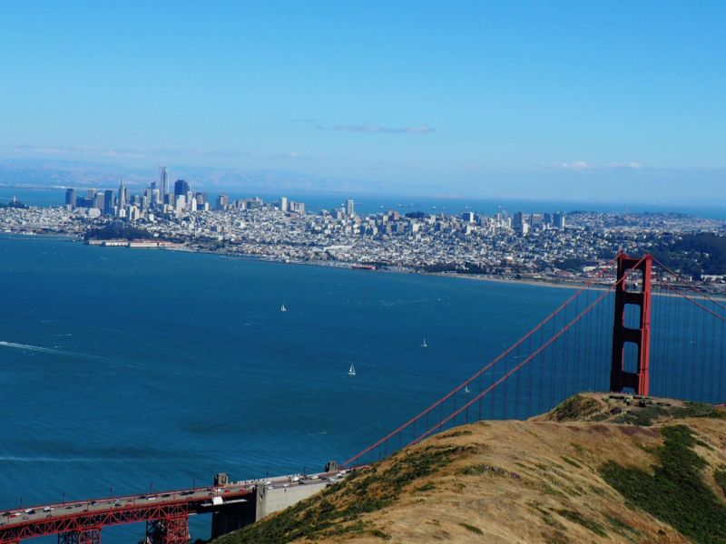 San Francisco, US. Photo: Wikimedia Commons