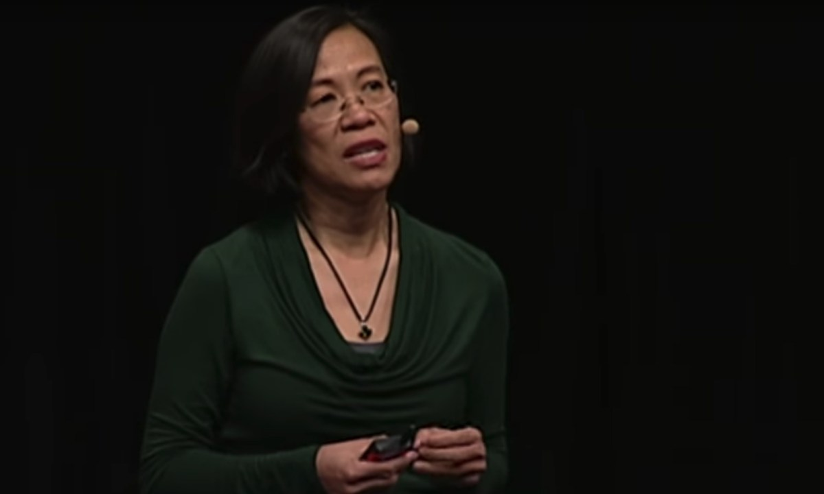 Vietnamese rights campaigner Diep Vuong. Photo: YouTube.