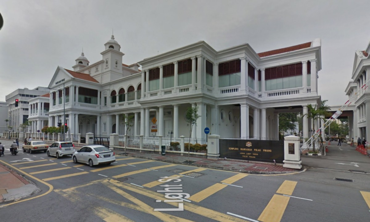 Penang High Court, George Town, Penang, Malaysia. Photo: Google Maps