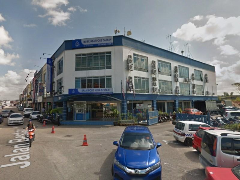 Iskandar Puteri police station, Johor, Malaysia. Photo: Google Maps