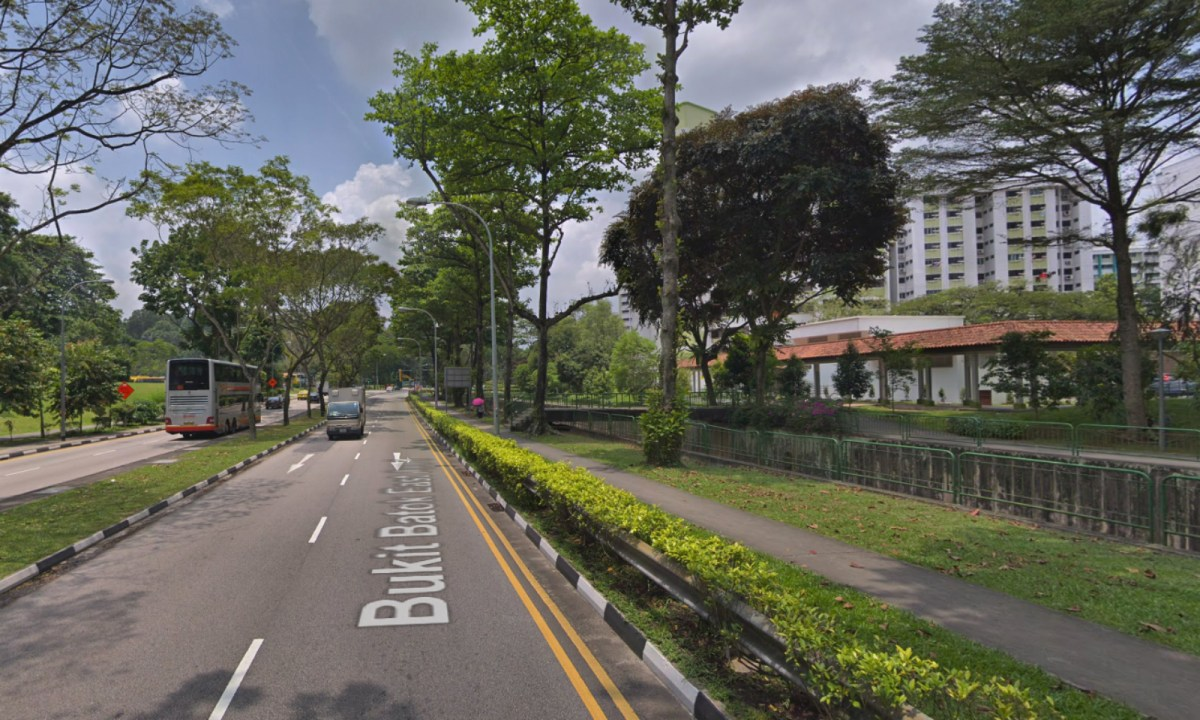 Bukit Batok in Singapore. Photo: Google Maps