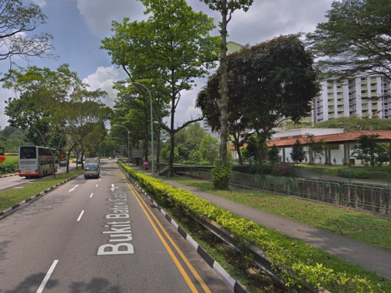 Bukit Batok in Singapore. Photo: Google Maps
