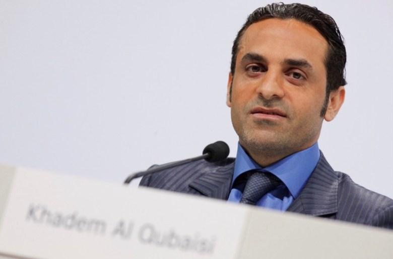 Khadem al-Qubaisi in a file photo. Photo: Facebook
